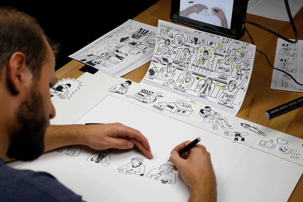 Storyboard und Umsetzung