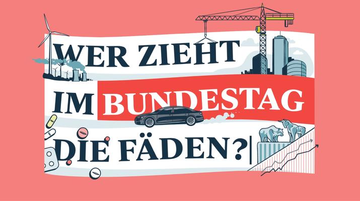Wer zieht im Bundestag die Fäden?