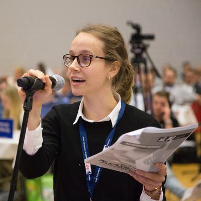 Katharina Wagner, Kreisvorsitzende JU Bergstraße