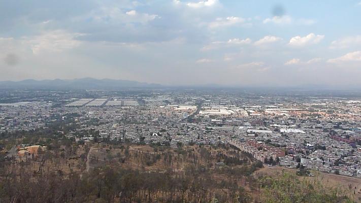 Vista desde el Cerro de la Estrella, D.F.