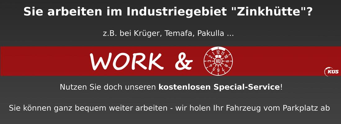 Work and make TÜV - Hauptuntersuchung in Bergisch Gladbach