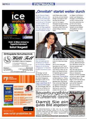 Interview Erkelenzer Stadtmagazin 2012