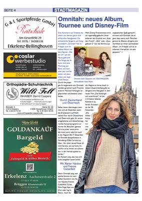 Interview Erkelenzer Stadtmagazin 2013