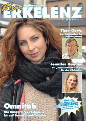 Covergirl Erkelenzer Stadtmagazin 2013