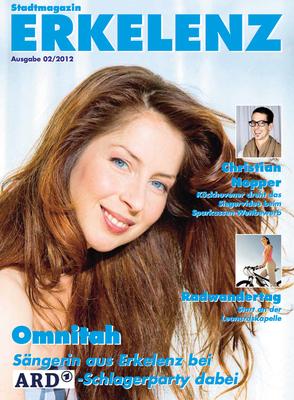Covergirl Erkelenzer Stadtmagazin 2012