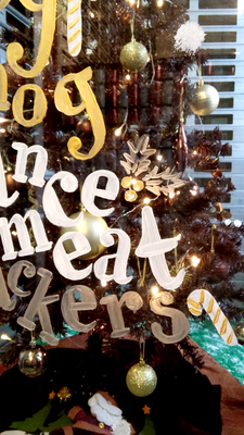Kelly's - Den Haag / The Hague - kerstboom typografie / christmastree typography