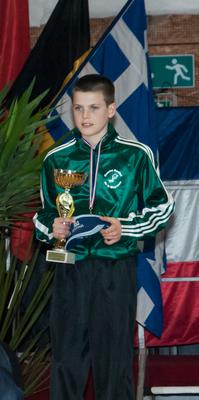 Meilleur Espoir 2013 : Maxence Roidor (Mayenne - France)