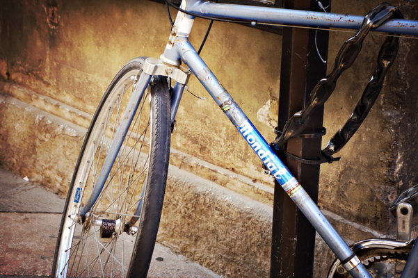 Schöner Mondial Fahrradrahmen in Trient