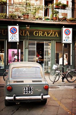 Fiat 850 in Verona