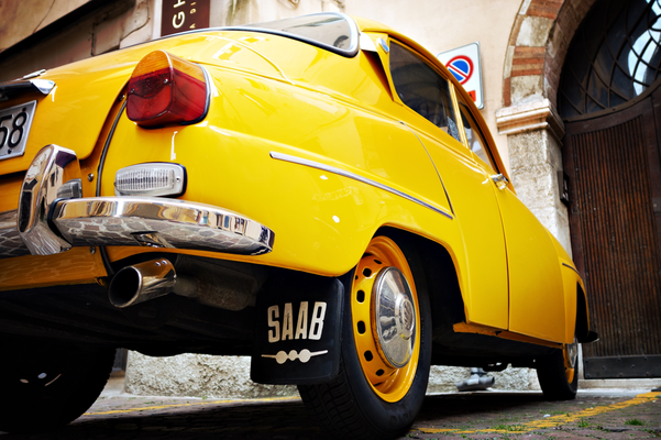 Saab 96 in Verona