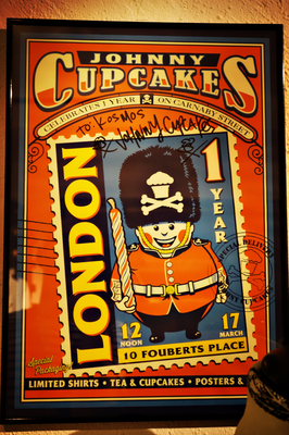 Johnny Cupcake Poster in Trient