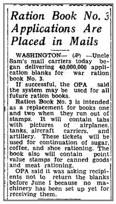 The Ludington Daily News (Ludington, Mason, Michigan) · 20 May 1943, Thu · Page 1