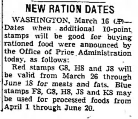 The Daily Telegram (Adrian, Lenawee, Michigan) · 16 Mar 1944, Thu · Page 1