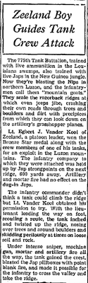 Zeeland Record, Zeeland, Michigan - 17 May 1945, page 1