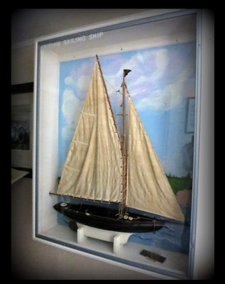 Frisian Sailing Ship - While living in The Netherlands, Yelle Wildschut built this model in 1928. He was born of a sailing family who later immigrated to Zeeland.