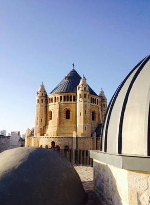 Über der Grabeskirche