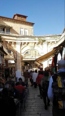 in den Gassen Jerusalems