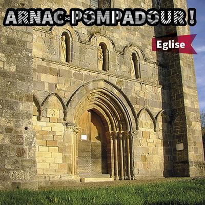 Arnac-Pompadour // Eglise