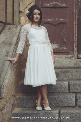 Spitzentop für deine Hochzeit im Boho Stil - elementar Brautkleider