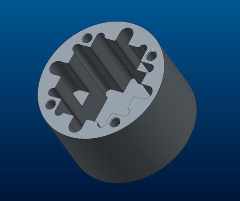 Fertig gerendertes 3D-Modell