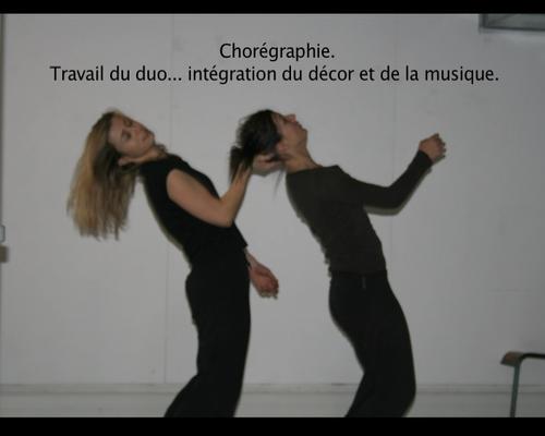 Recherche chorégraphique - Photo de répétition