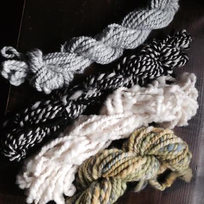 オリジナルの紡いだ糸