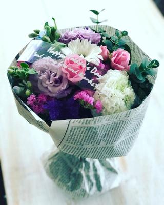 母の日ギフト2017 「ミックスブーケ」花束Sサイズ