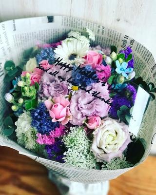 母の日ギフト2017 「ミックスブーケ」花束Mサイズ