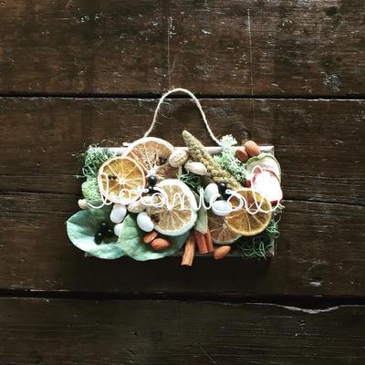 「フルーツ&ナッツのボタニカルボード」