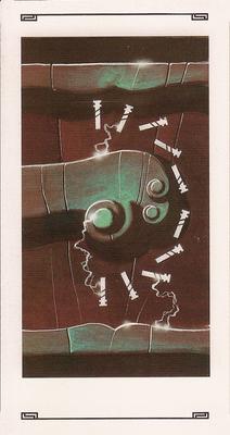 10 de bâton - Tarot L'Oeil de Myrddin