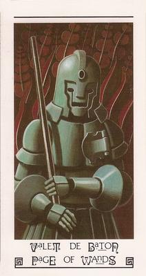 Valet de bâton - Tarot L'Oeil de Myrddin