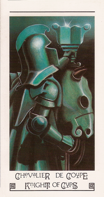 Chevalier de coupe - Tarot L'Oeil de Myrddin