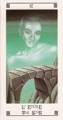 XVII L'Étoile - Tarot L'Oeil de Myrddin