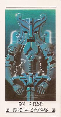 Roi d'épée - Tarot L'Oeil de Myrddin