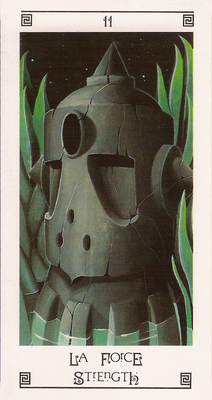 XI La Force - Tarot L'Oeil de Myrddin