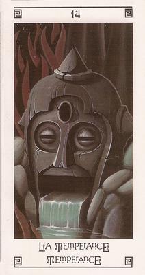 XIV Tempérance - Tarot L'Oeil de Myrddin
