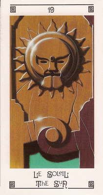 XIX Le Soleil - Tarot L'Oeil de Myrddin
