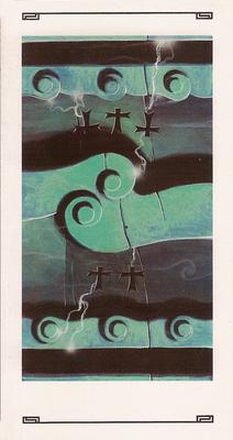 2 / 3 d'épée - Tarot L'Oeil de Myrddin