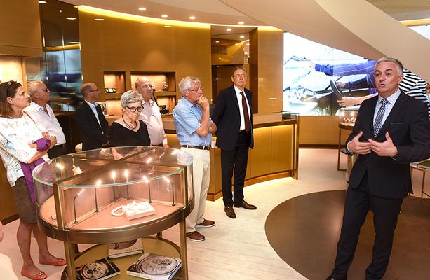 Juni 2017  LPC zu Besuch bei Huber Fine Watches & Jewellery, Vaduz