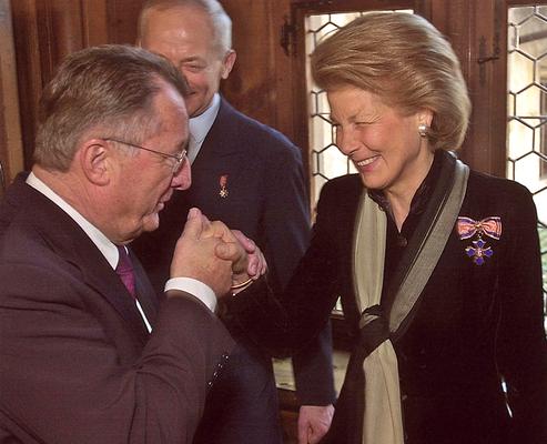 Januar 2002 Walter-Bruno Wohlwend,  Präsident des Liechtensteiner Presseclubs