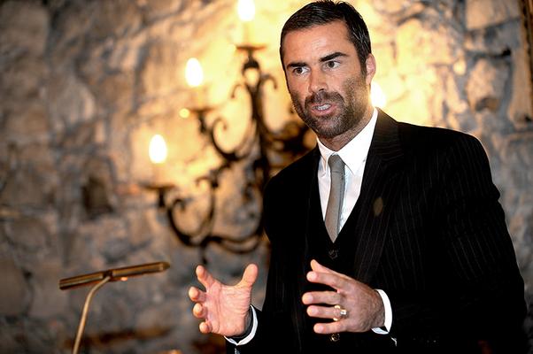 November 2013 René Brülhart, Leiter der vatikanischen Finanzaufsichtsbehörde, zu Besuch beim LPC
