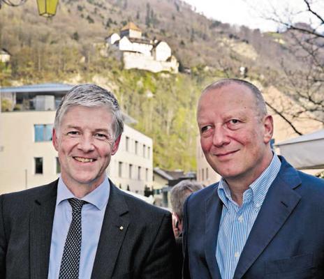 April 2013, Roger de Weck, Generaldirektor SRG SSR, zu Besuch beim LPC