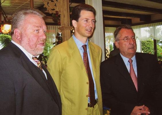 05. Juli 2004 Besuch von Erbprinz Alois von und zu Liechtenstein beim Liechtensteiner Presseclub