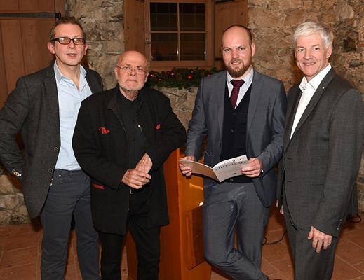 Dezember 2017 LPC Treffen mit dem PEN-Club Liechtenstein
