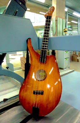 Dulcimer E-Guitar Maple and Spruce - www.bernd-oetzmann.de