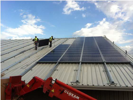 installateur panneau solaire