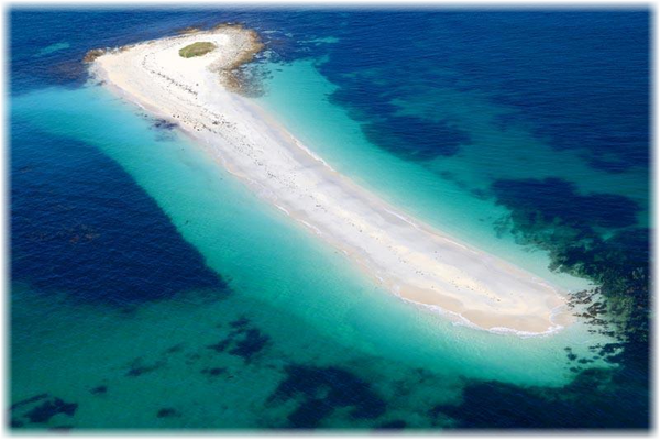 Glenan Inseln, traumhaft