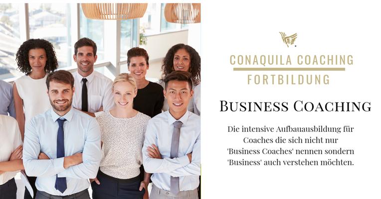 Aufbauausbildung: Business Coaching