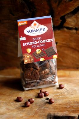 Dinkel Schoko Cookies (Sommer)
