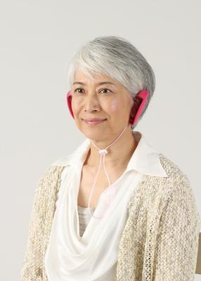 装着イメージ 私のミミ 補聴耳カバー つけ耳